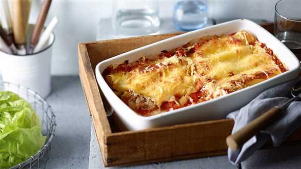 Cannelloni z ricottą i orzeszkami piniowymi