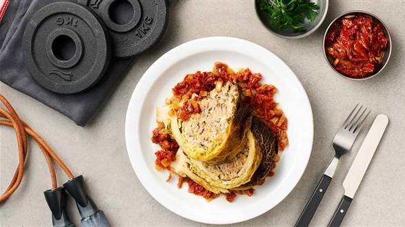 Kapusta włoska faszerowana mięsem
