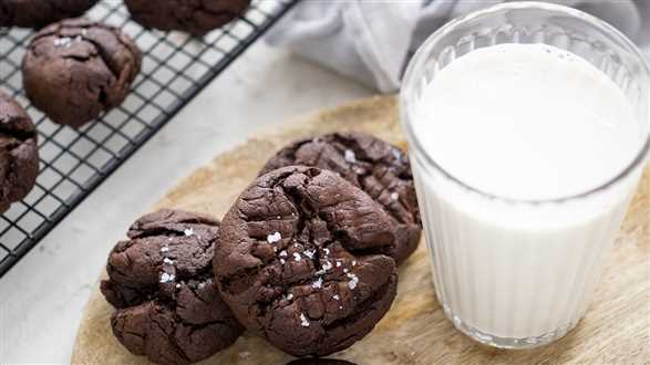 Wegańskie ciasteczka brownie