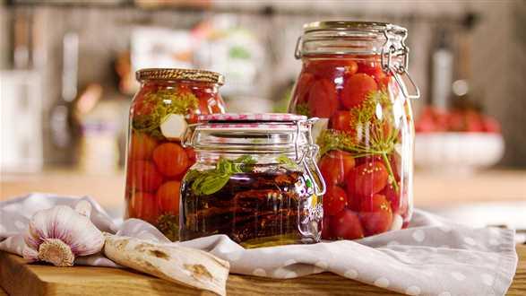 Kiszone i suszone pomidory