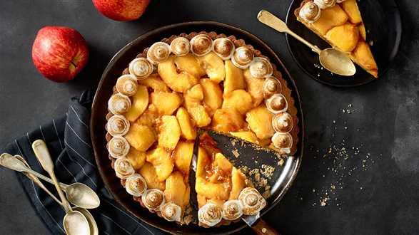 Tarta jabłkowo-waniliowa
