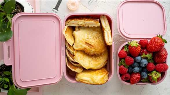 Pancakesy faszerowane jabłkiem