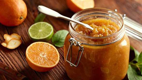 Aromatyczna konfitura pomarańczowa