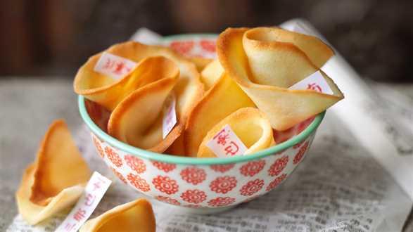 Chińskie ciasteczka z wróżbą