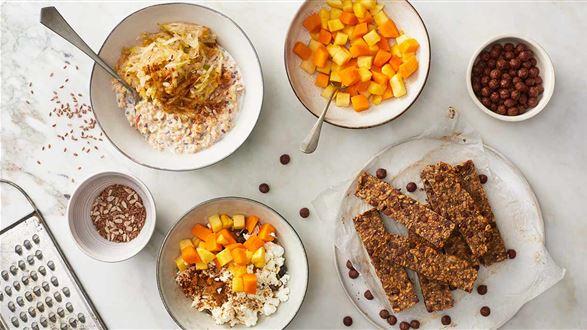 3 sposoby na jesienne śniadanie
