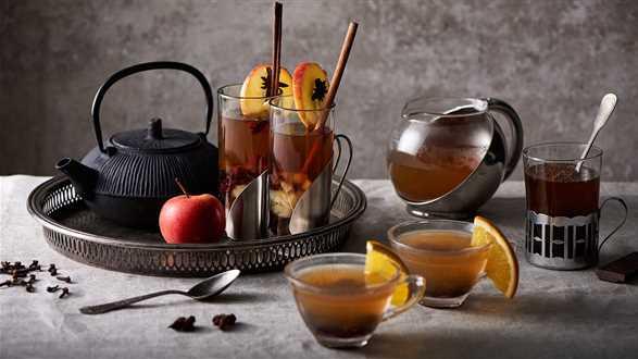 Rozgrzewające herbaty na 3 sposoby