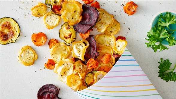 Chipsy z warzyw