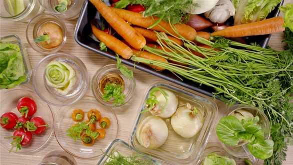 Jak zrobić jadalny ogród z resztek warzyw i ziół?