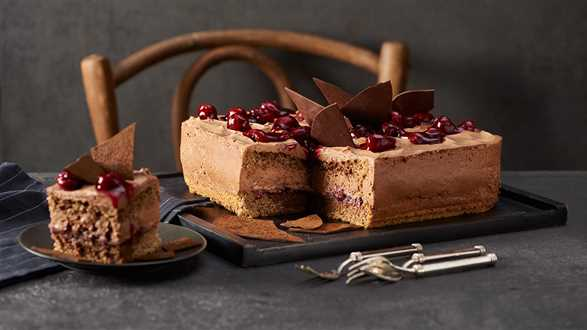 Ciasto kawowo-wiśniowe
