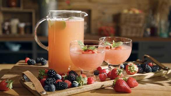Lubelski napój żniwny z rabarbaru