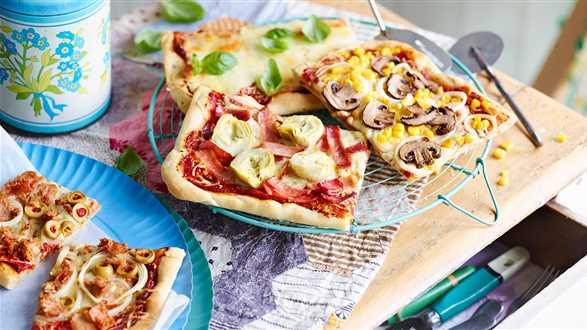 Pizza cztery pory roku