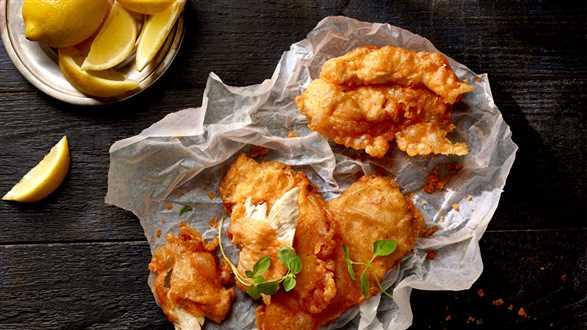 Kurczak w piwnej panierce
