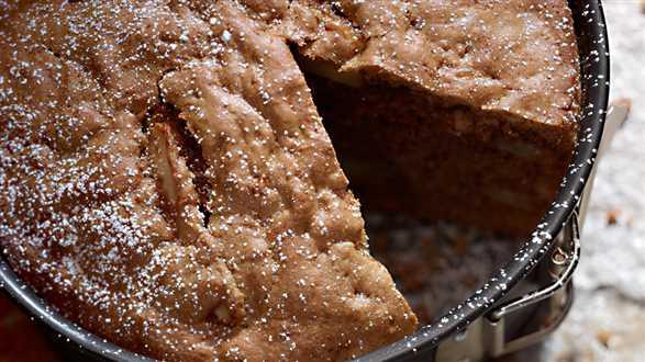 Cynamonowe ciasto z jabłkami