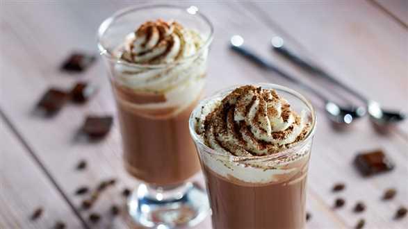 Gorąca czekolada do picia