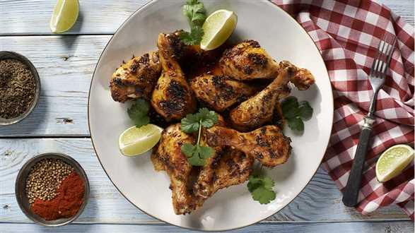 Kurczak pieczony z kminkiem
