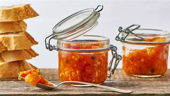 Konfitura z pomidorów z curry