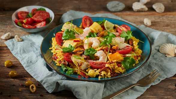 Arroz de marisco, czyli ryż z owocami morza