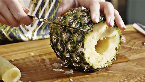 Jak obrać mango, ananasa i granat?