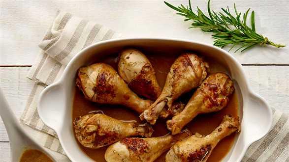 Kurczak w sojowej marynacie
