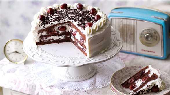 Tort szwarcwaldzki z wiśniami