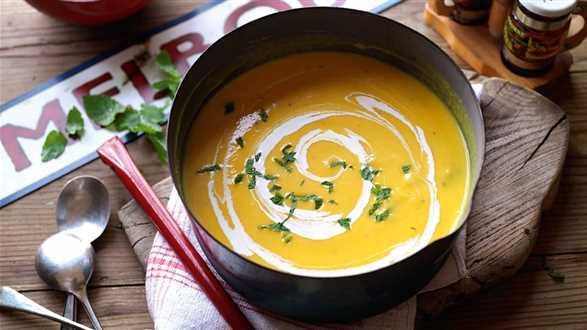Zupa z batatów i dyni