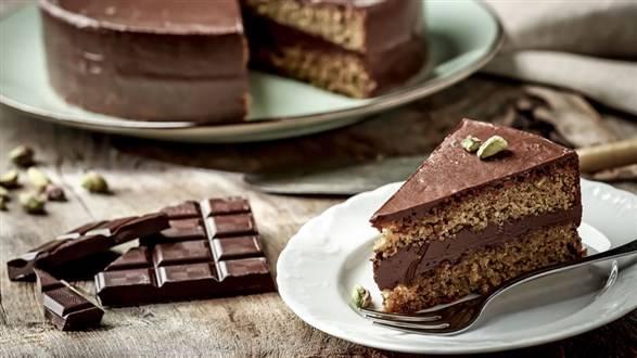 Sycylijskie ciasto pistacjowe Bronte