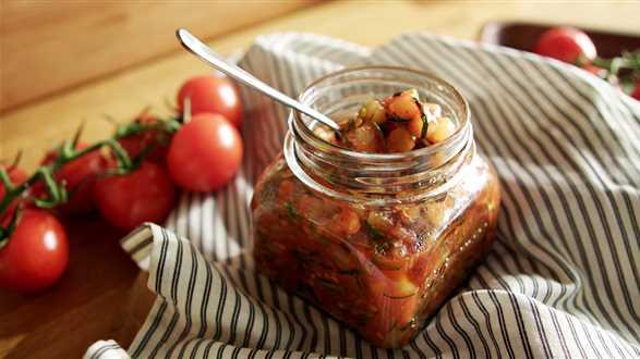Konfitura z cukinii i pomidorów