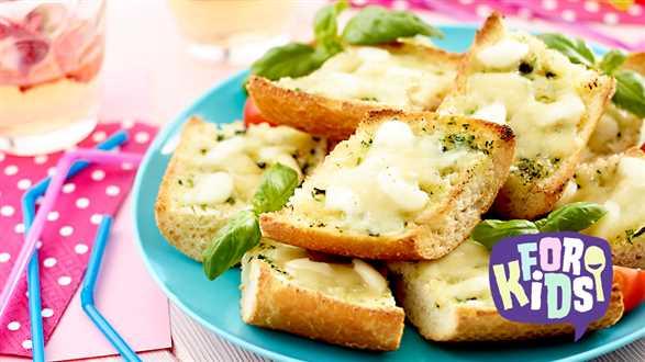 Grillowane grzanki z serem