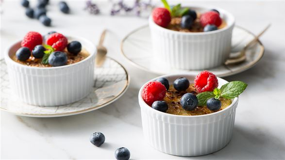 Jaglany crème brûlée