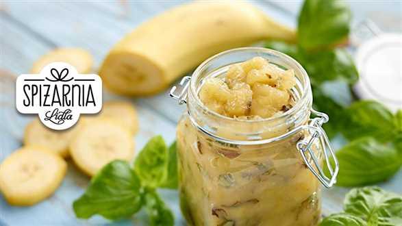 Dżem bananowo-bazyliowy