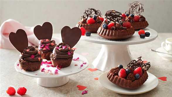 Muffiny z czekoladą: klasyczne i wegańskie