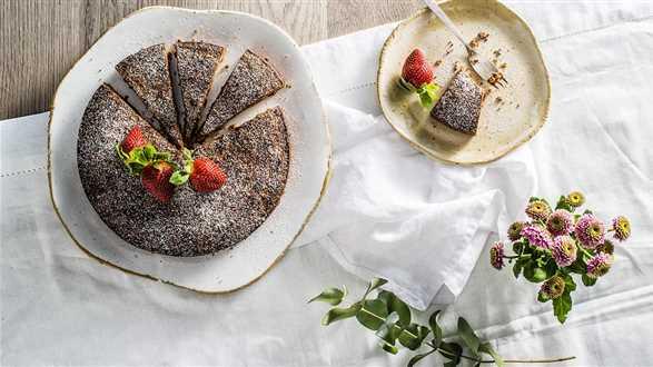 Szwedzkie ciasto czekoladowe kladdkaka