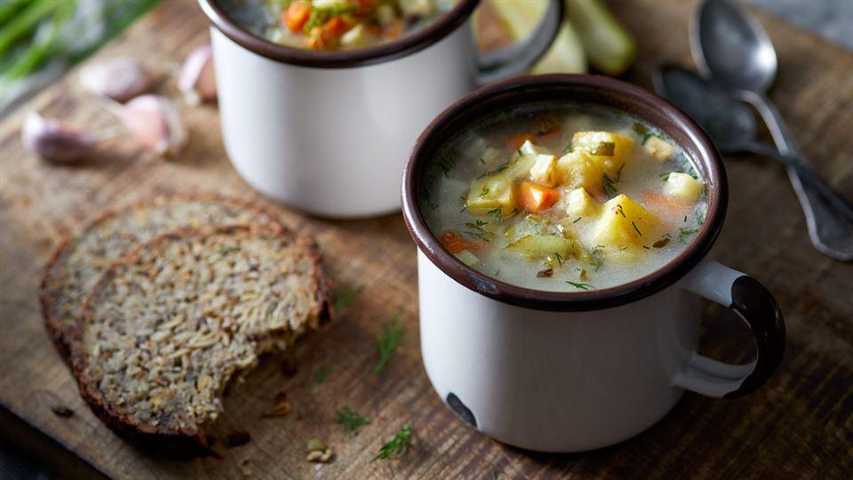Klasyczna Zupa Ogorkowa Przepis Kuchnia Lidla
