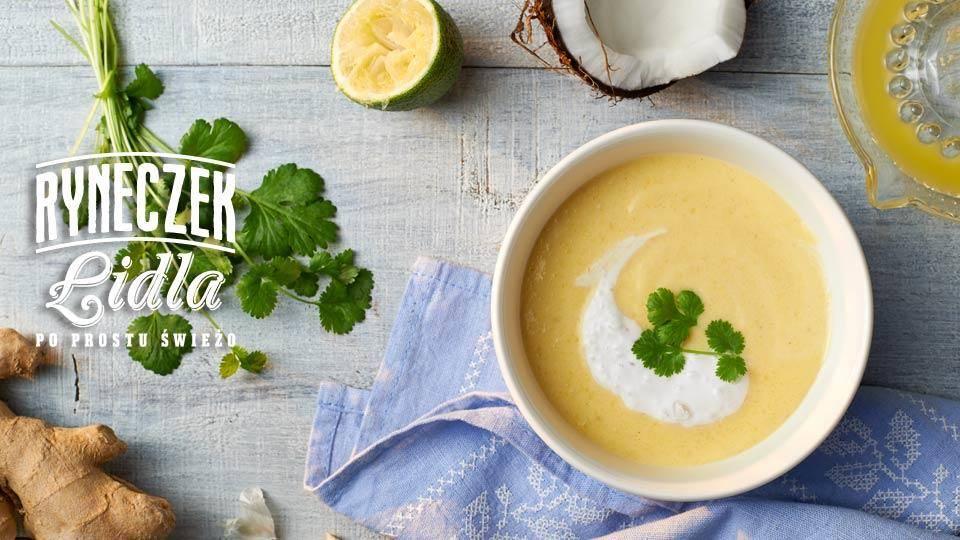 Zupa Z Mango Z Imbirem I Limonka Przepis Kuchnia Lidla