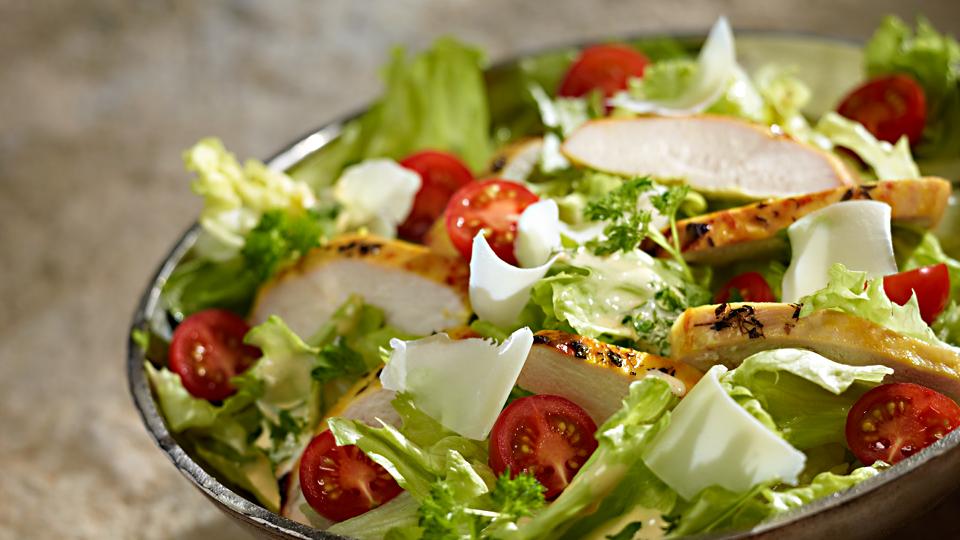 Salatka A La Cesar Z Soczystym Kurczakiem Przepis Kuchnia Lidla