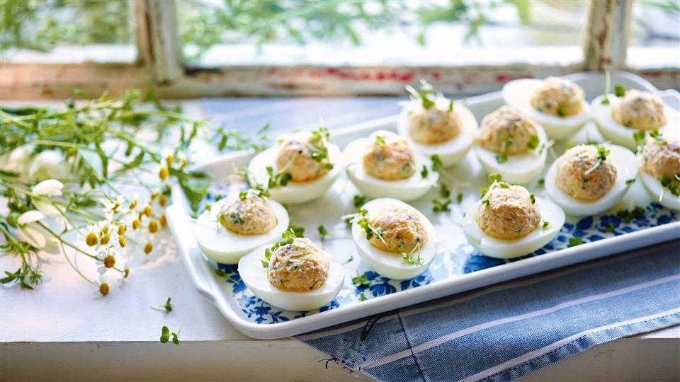 Jajka Faszerowane Z Szynka Przepis Kuchnia Lidla