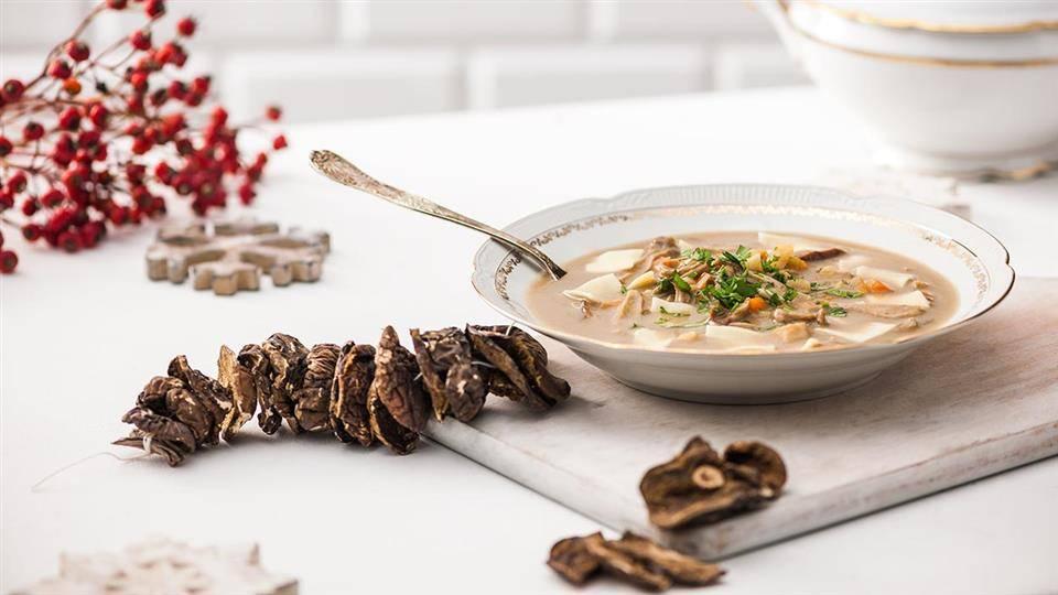 Zupa Z Suszonych Grzybow Przepis Kuchnia Lidla