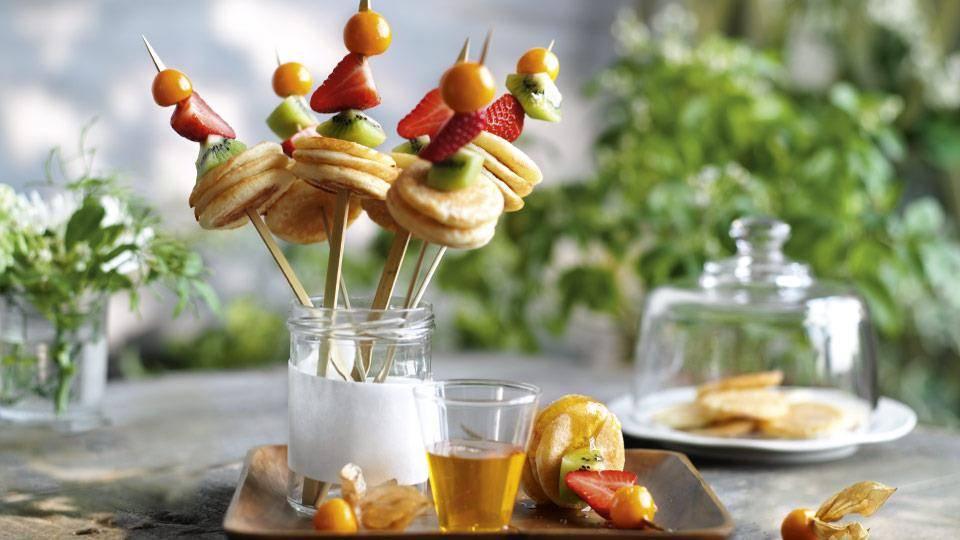 Mini Pancakes Na Patyku