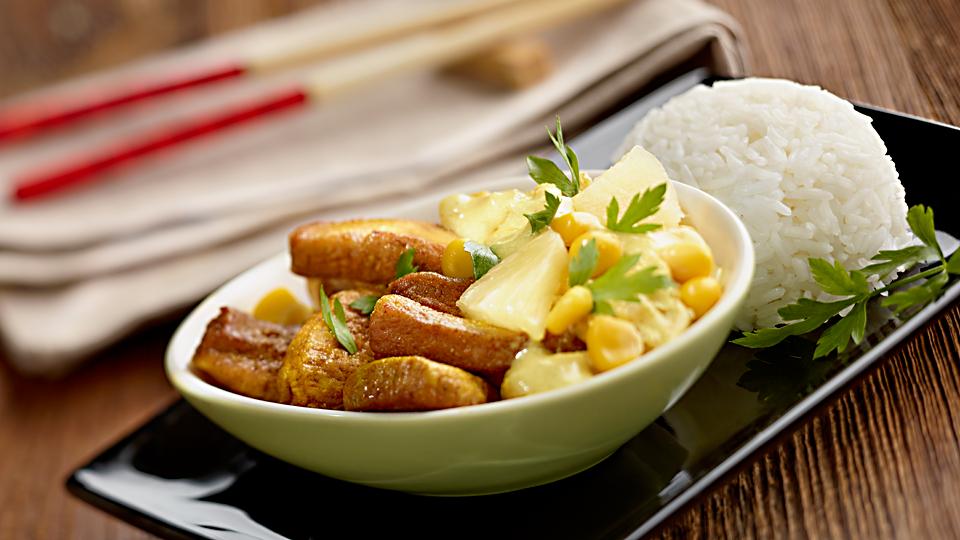 Kurczak Curry Z Ananasem Przepis Kuchnia Lidla