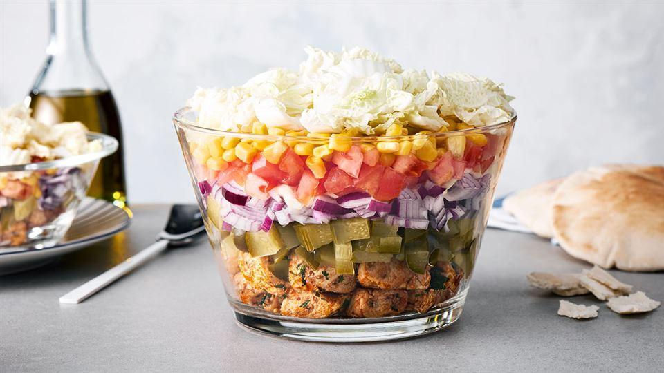 Salatka Gyros Przepis Kuchnia Lidla