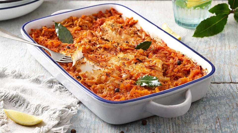 Pieczona Ryba Po Grecku Przepis Kuchnia Lidla