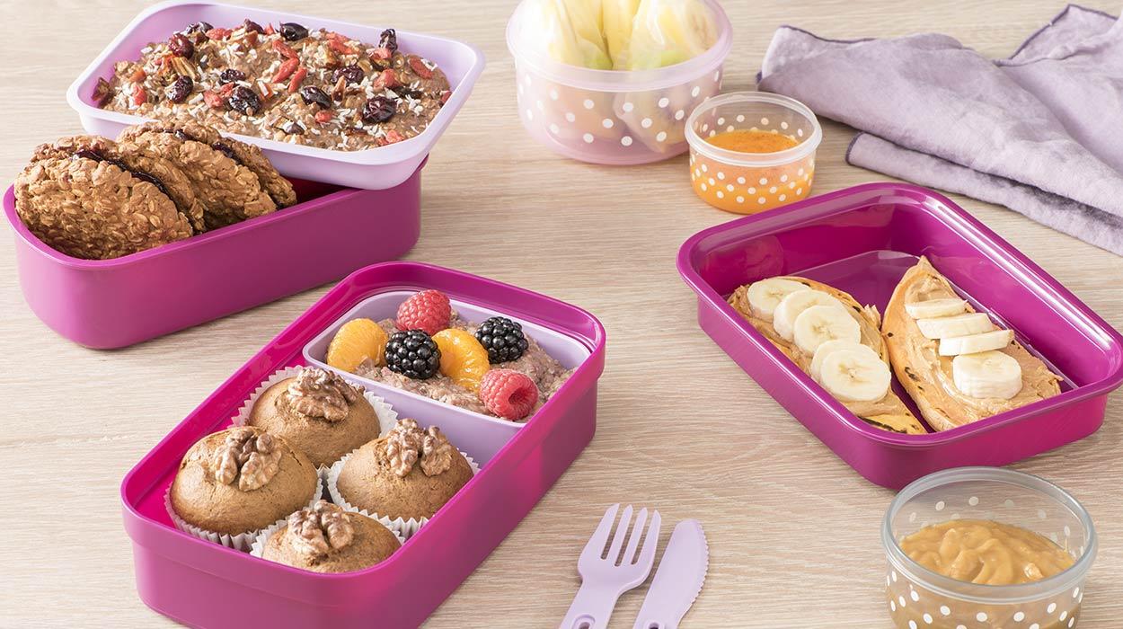 3 sposoby na słodkie lunchboxy