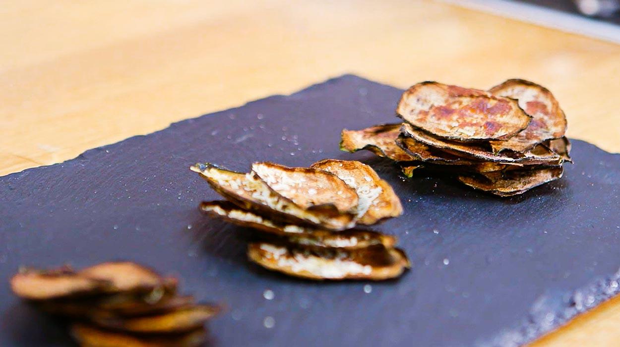 Jak Zrobic Chipsy Z Cukinii Kuchnia Lidla