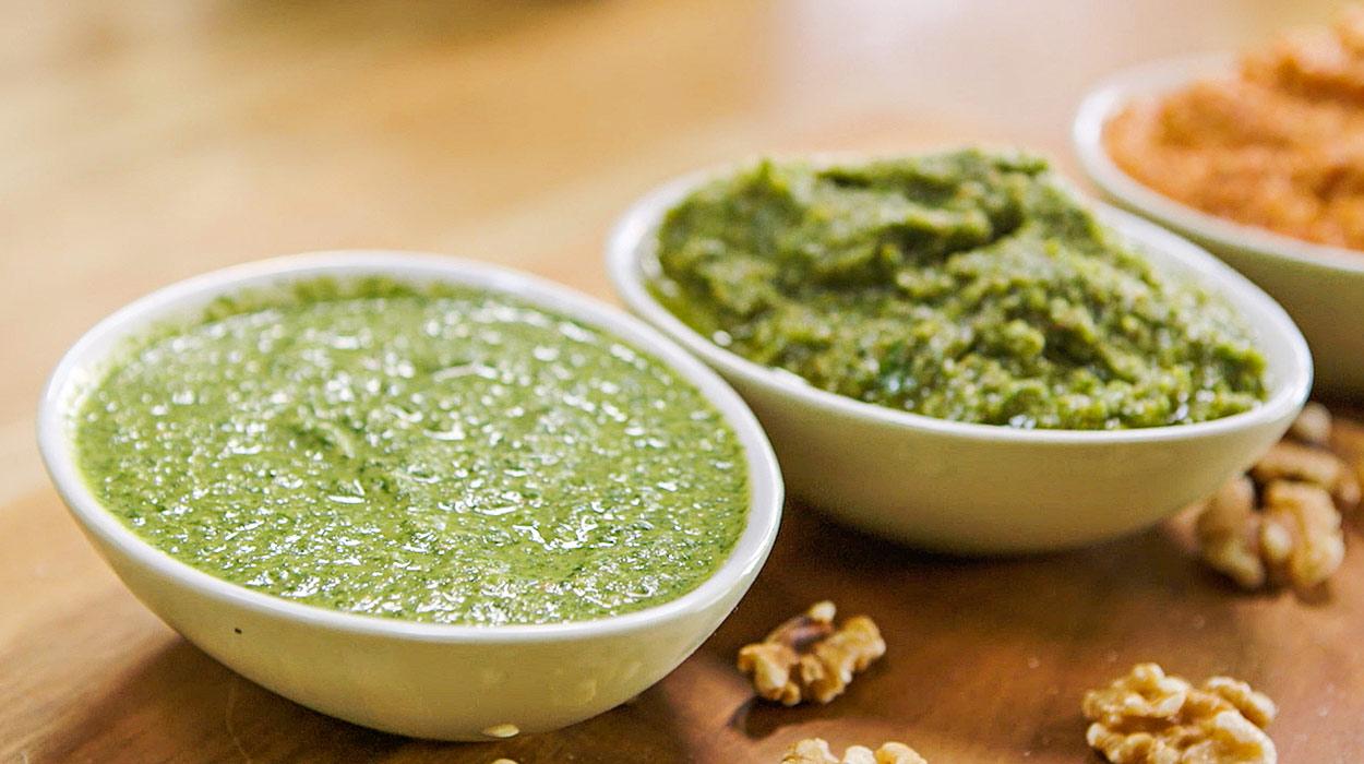 Jak Zrobic Pesto W Trzech Wersjach Smakowych Kuchnia Lidla