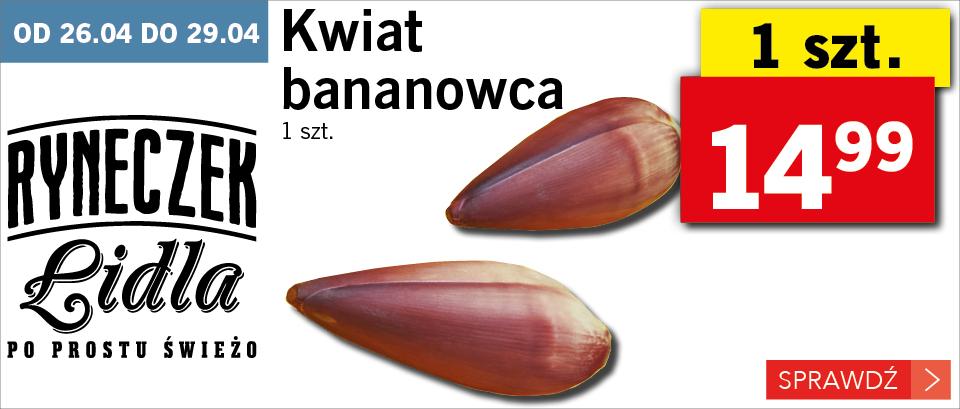 kwiat bananowca