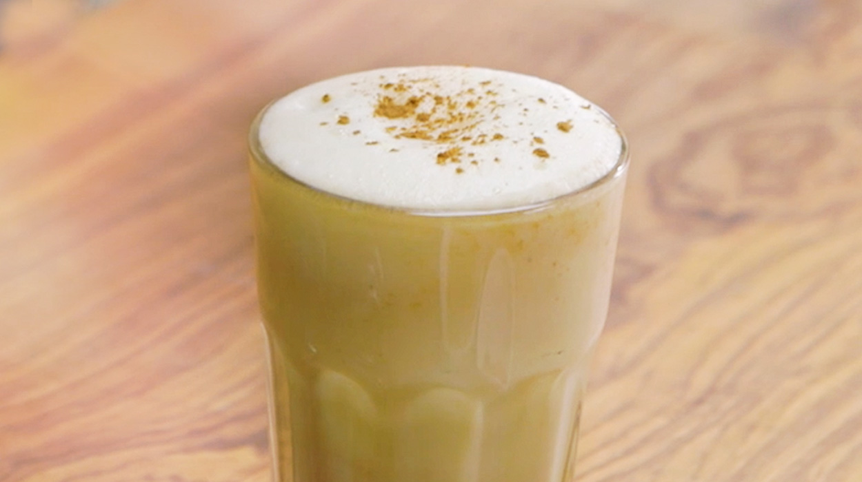 Dyniowe latte i milkshake