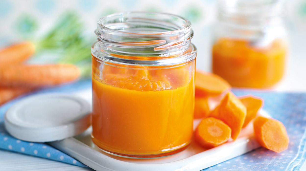 Przecier z marchewki