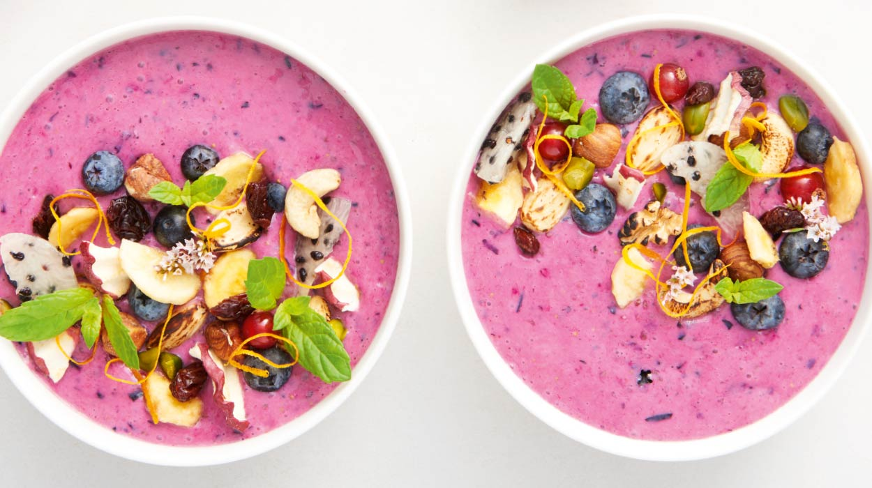 Owocowe smoothie bowl