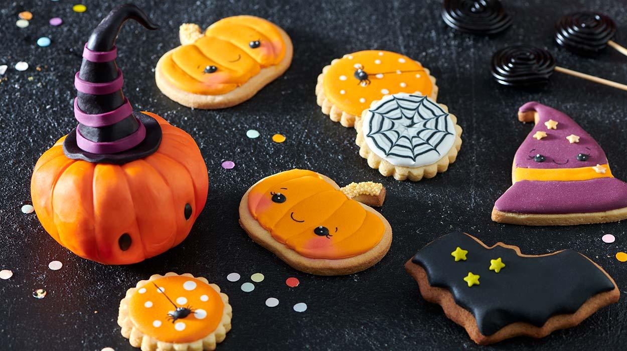 Korzenne ciasteczka na Halloween