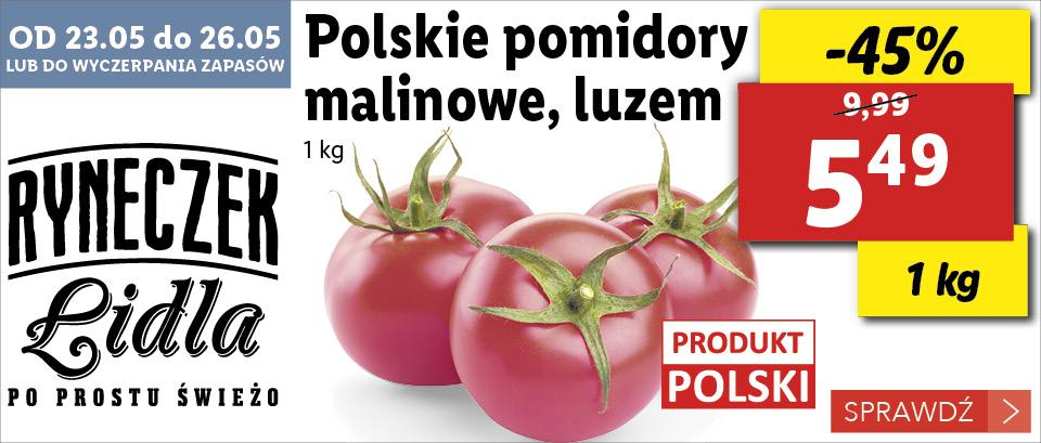 pomidory malinowe